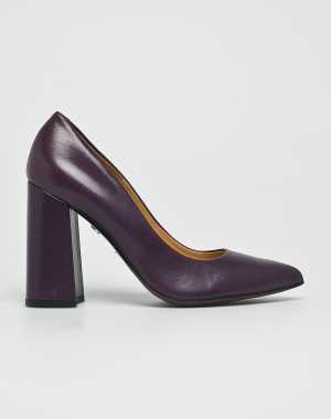 Solo Femme Női Sarkas cipő sotét ibolya
