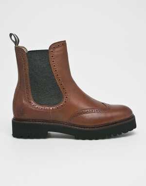 Marc O'Polo Női Magasszárú cipő barna
