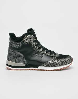 Pepe Jeans Női Sportcipő Gable fekete