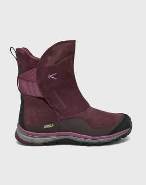 Keen Női Hócipő Winterterra Lea Boot sotét ibolya