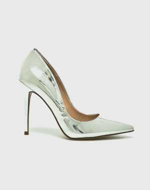 Steve Madden Női Tűsarkú cipő Daisie ezüst