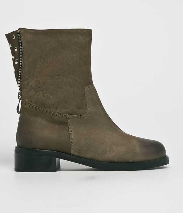 Solo Femme Női Magasszárú cipő zöld
