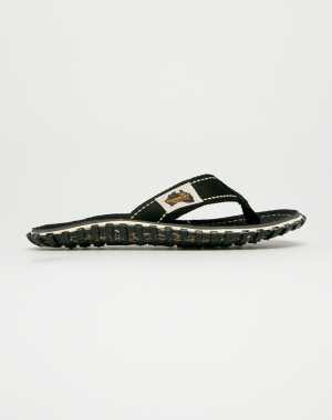 Gumbies Női Flip-flop Islander Black fekete