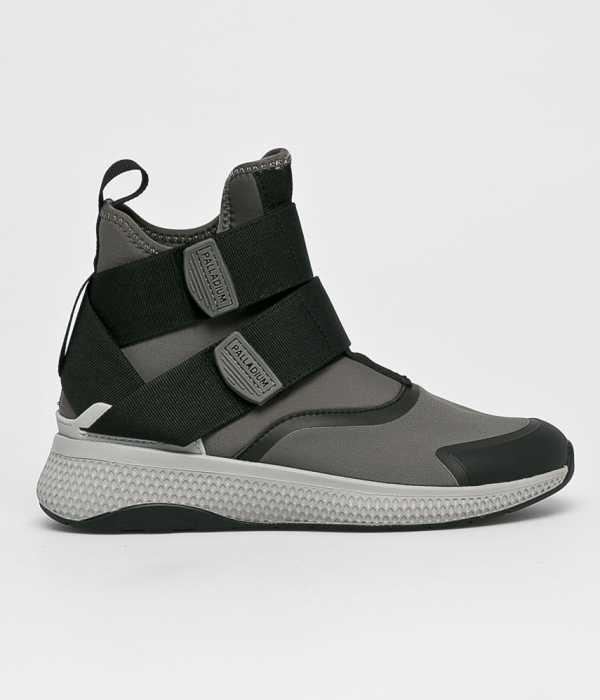 Palladium Női Magasszárú cipő szürke
