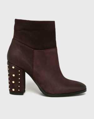 CheBello Női Magasszárú cipő gesztenyebarna