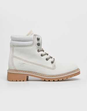 Mustang Női Magasszárú cipő fehér