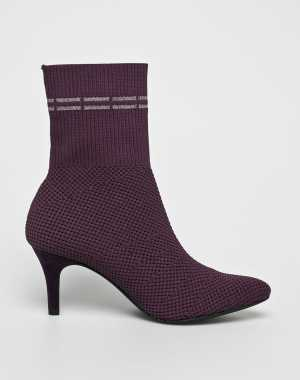 Marco Tozzi Női Magasszárú cipő lila