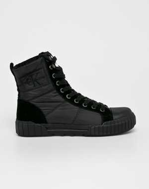 Calvin Klein Jeans Női Magasszárú cipő Bimba fekete
