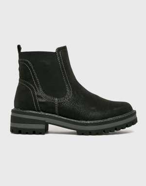 s. Oliver Női Magasszárú cipő fekete