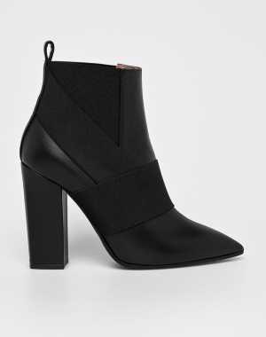 Pollini Női Magasszárú cipő fekete