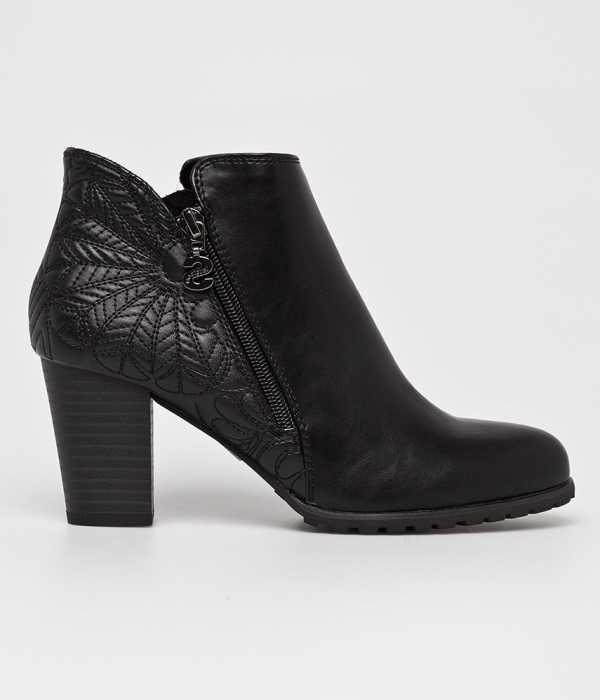 Desigual Női Magasszárú cipő fekete