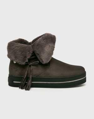 XTI Női Magasszárú cipő szürke