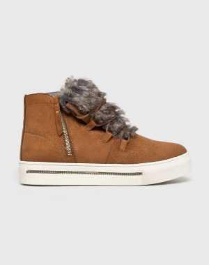 XTI Női Magasszárú cipő aranybarna
