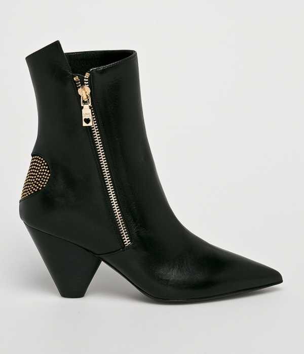 Love Moschino Női Magasszárú cipő fekete