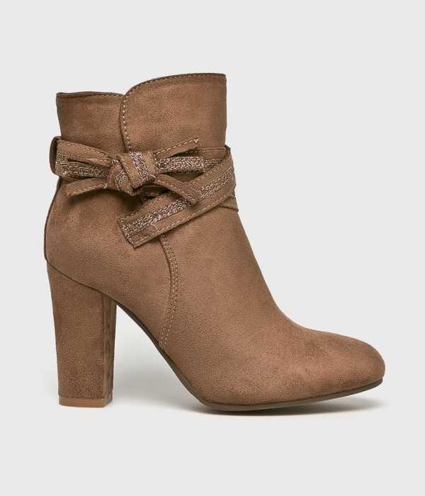 Answear Női Magasszárú cipő Super Mode borostyán színű