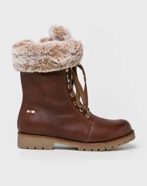 Caprice Női Magasszárú cipő barna