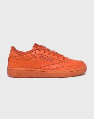 Reebok Classic Női Cipő Club C 85 narancssárga