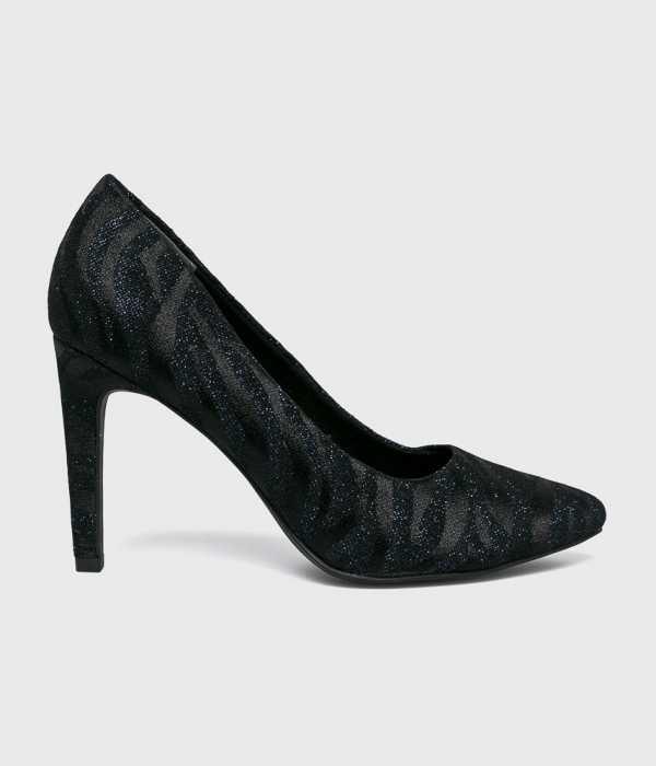 Marco Tozzi Női Tűsarkú cipő sötétkék