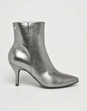 Trussardi Jeans Női Magasszárú cipő ezüst