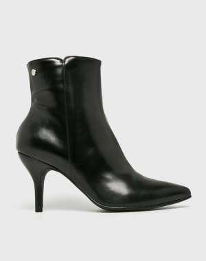 Trussardi Jeans Női Magasszárú cipő fekete