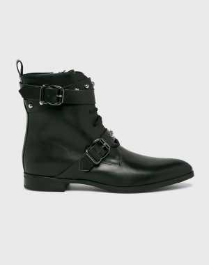 Gino Rossi Női Magasszárú cipő fekete