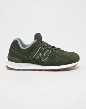 New Balance Férfi Cipő ML574EPB barnás- zöld