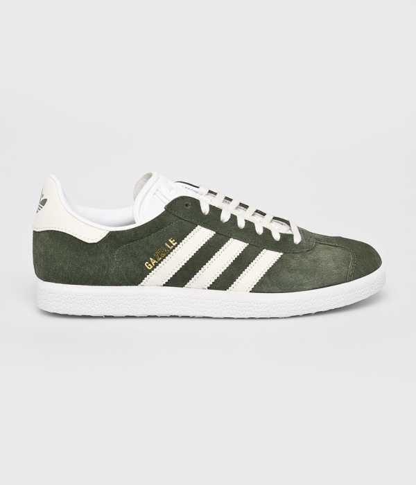 adidas Originals Férfi Cipő Gazelle barnás- zöld