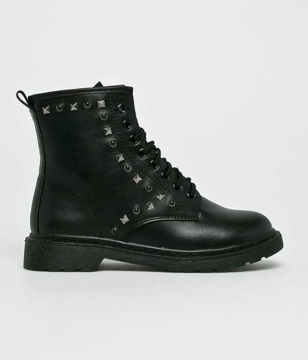 Answear Női Magasszárú cipő Martin Pescatore fekete