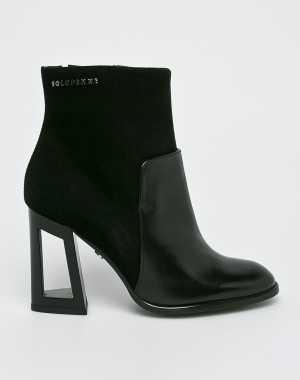 Solo Femme Női Magasszárú cipő fekete