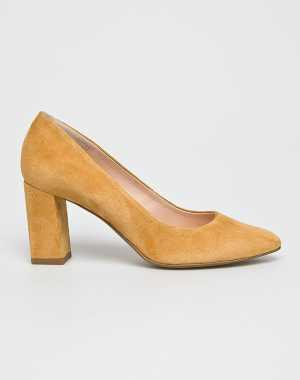 Wojas Női Sarkas cipő sárga