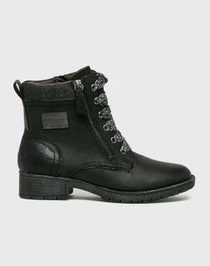 Jana Női Magasszárú cipő fekete