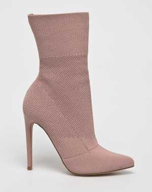 Steve Madden Női Magasszárú cipő Century pirosas rózsaszín