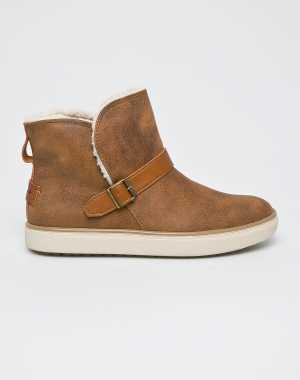 Skechers Női Magasszárú cipő barna