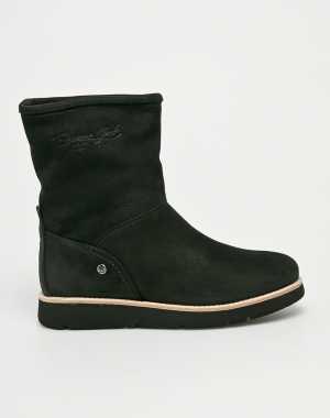 Panama Jack Női Magasszárú cipő fekete