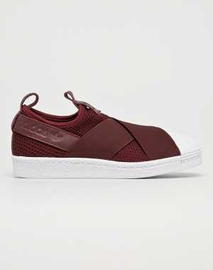 adidas Originals Női Cipő Superstar Slip On W gesztenyebarna