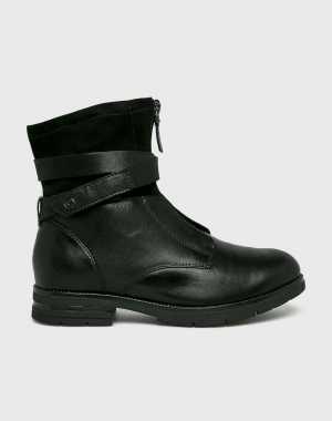 Tamaris Női Magasszárú cipő fekete