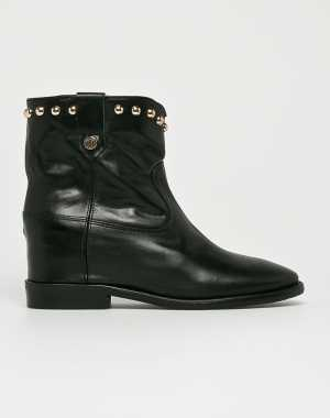 Tommy Hilfiger Női Magasszárú cipő fekete