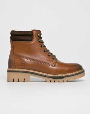 Tamaris Női Magasszárú cipő barna