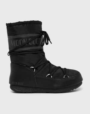 Moon Boot Női Hócipő fekete