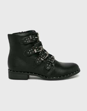 Haily's Női Magasszárú cipő Marit fekete