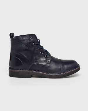 Levi's Női Magasszárú cipő Track sötétkék