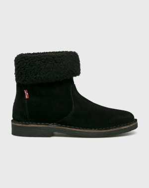 Levi's Női Magasszárú cipő Honey fekete