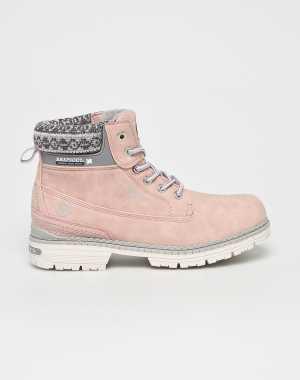 American Club Női Magasszárú cipő rózsaszín