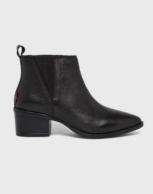 Levi's Női Magasszárú cipő Gaia fekete