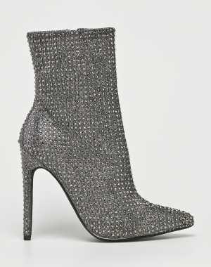 Steve Madden Női Magasszárú cipő Wifey ezüst