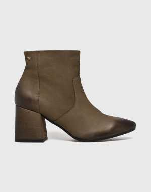 Wojas Női Magasszárú cipő zöld