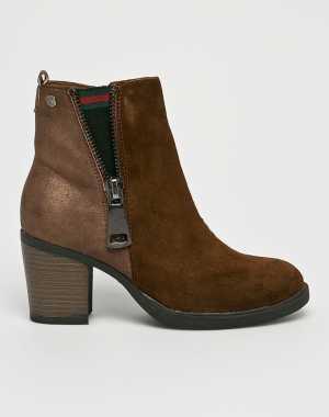 Carmela Női Magasszárú cipő aranybarna