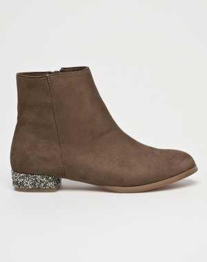 Corina Női Magasszárú cipő piszkos barna