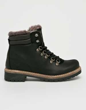 Mustang Női Magasszárú cipő fekete