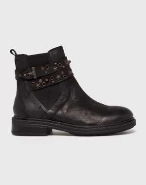 Wrangler Női Magasszárú cipő fekete